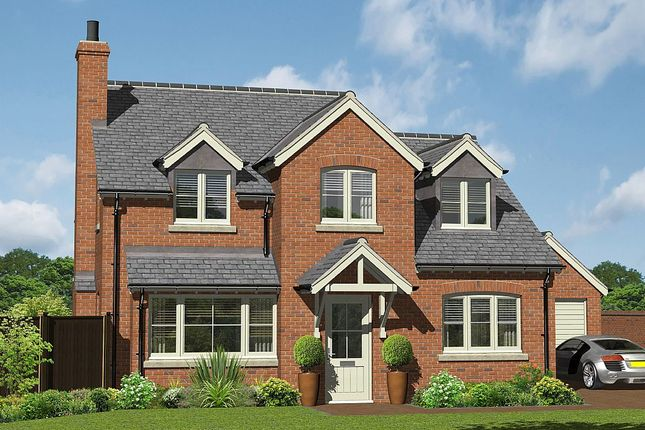 Detached house for sale in Hill Crest View - Plot 1, Lower Road, Myddle, Shrewsbury, Shropshire