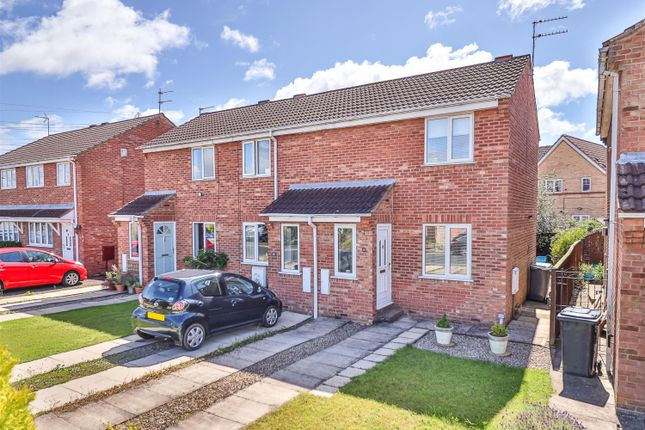 Thumbnail End terrace house for sale in Wydale Road, York, York