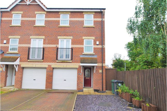 Thumbnail End terrace house for sale in Evans Court, Armthorpe, Doncaster