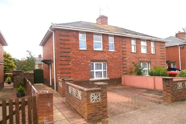 Thumbnail Semi-detached house to rent in Shakespeare Road, Exeter