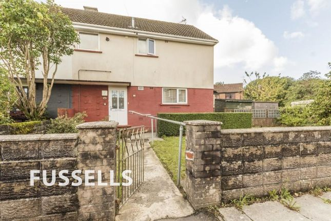 Thumbnail Semi-detached house for sale in Waunfach Street, Caerphilly