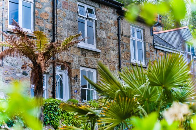 Thumbnail Terraced house for sale in Mount Pleasant Terrace, Mousehole, Penzance