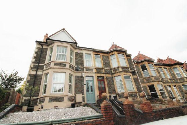 Thumbnail End terrace house to rent in Montrose Park, Brislington