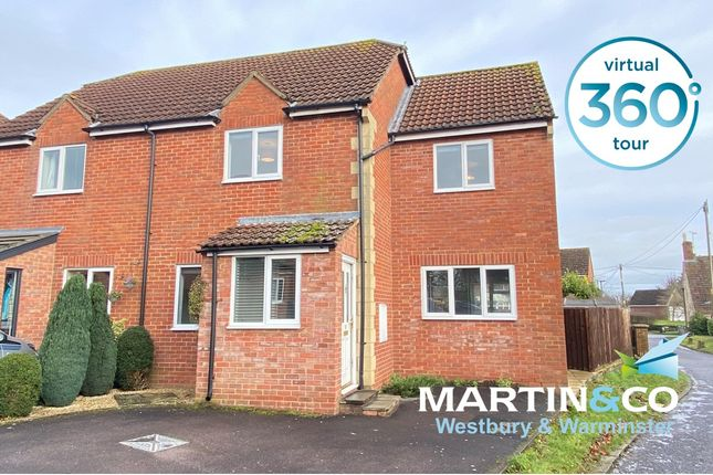 Thumbnail Semi-detached house to rent in Bartletts Mead, Steeple Ashton, Trowbridge, Wiltshire