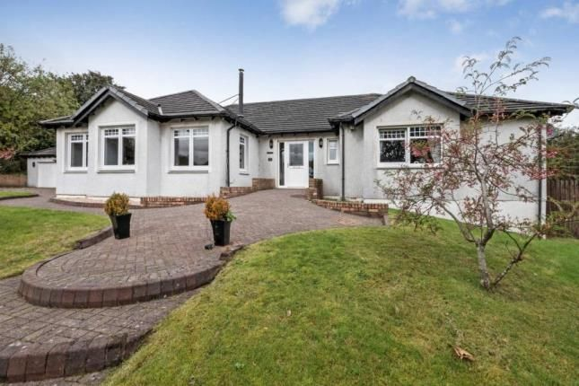 Thumbnail Bungalow for sale in High Barrwood Road, Kilsyth, Glasgow, North Lanarkshire