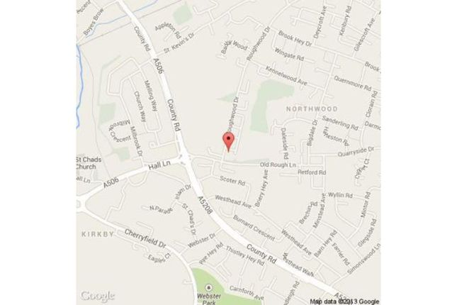 Location of Roughwood Drive, Liverpool L33