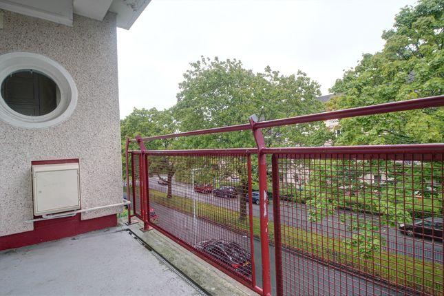 External of Banchory Avenue, Glasgow G43