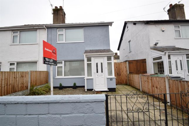Thumbnail Semi-detached house to rent in Heather Road, Heswall, Wirral