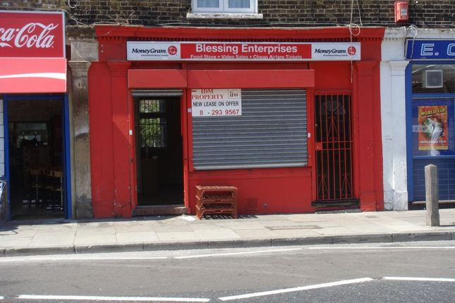 Thumbnail Retail premises to let in Frances Street, Woolwich
