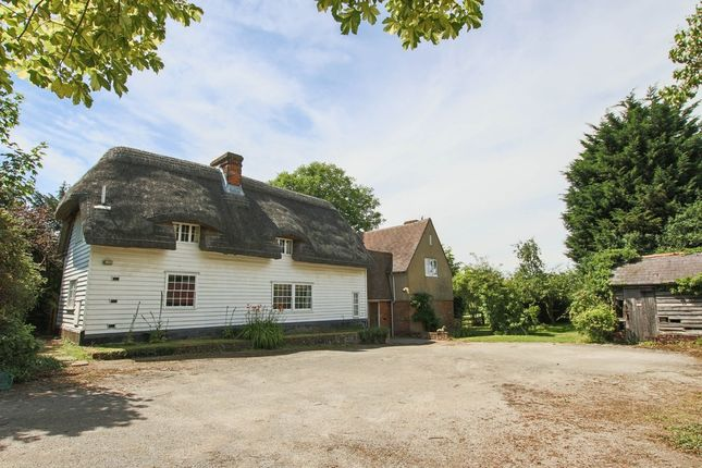 Thumbnail Farmhouse for sale in Nuthampstead, Royston