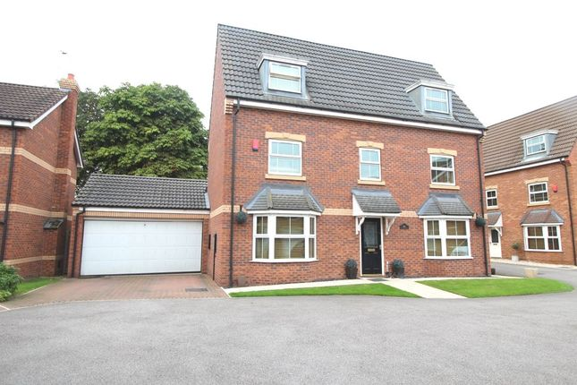 Thumbnail Detached house for sale in Hayfield Court, Auckley, Doncaster
