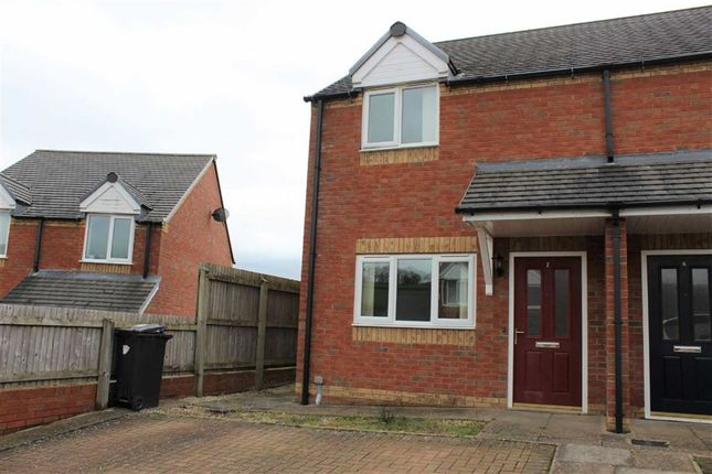 Thumbnail Semi-detached house to rent in 7, Brynmor Close, Bryn Lane, Newtown, Powys