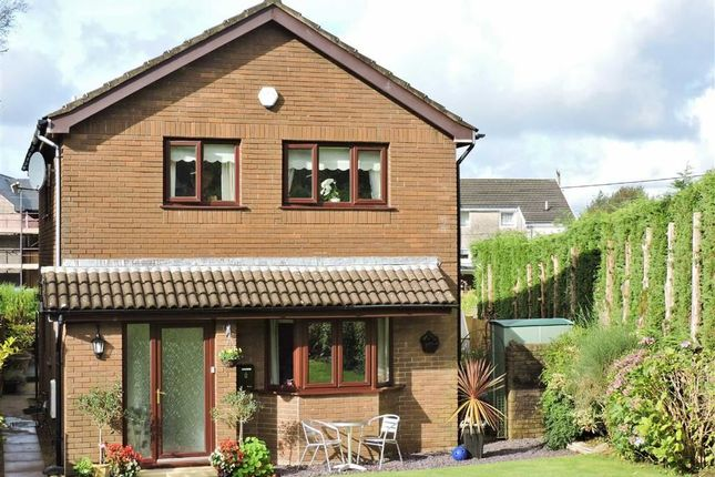 Thumbnail Detached house for sale in Llys Sant Teilo, Llangyfelach, Swansea