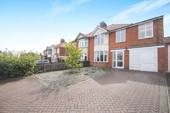 4 bed semi-detached house for sale in Woodbridge Road East, Rushmere St. Andrew, Ipswich