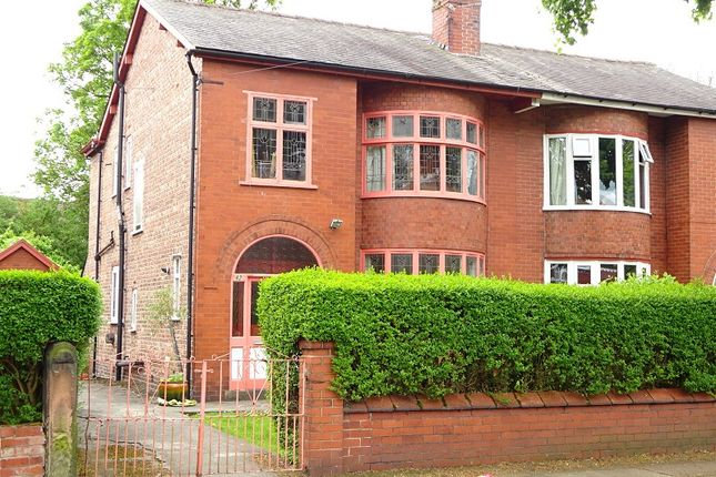 Thumbnail Semi-detached house for sale in Brooks Road, Old Trafford, Manchester.