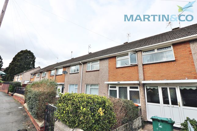 Thumbnail Terraced house to rent in Monnow Way, Bettws, Newport