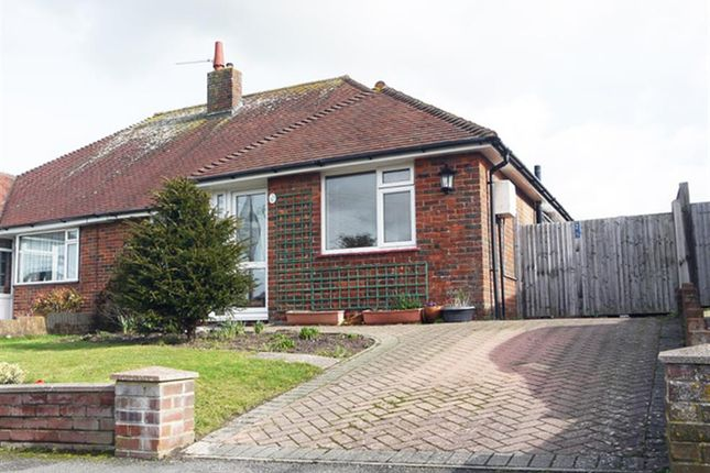 Thumbnail Semi-detached bungalow for sale in Summerlands Road, Willingdon, Eastbourne