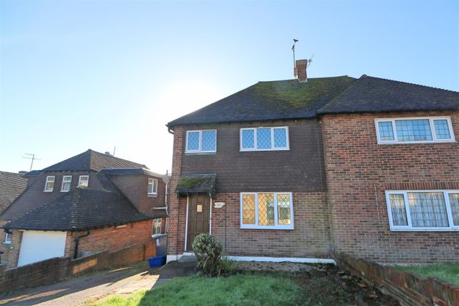 Thumbnail Semi-detached house to rent in Harebeating Drive, Hailsham