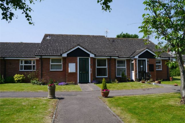 Thumbnail Terraced bungalow for sale in Shephard Mead, Tewkesbury, Gloucestershire