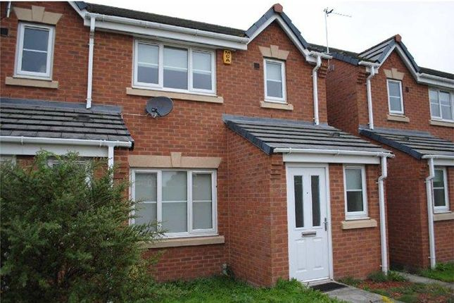 Thumbnail Town house to rent in Naylor Green, Ellesmere Port