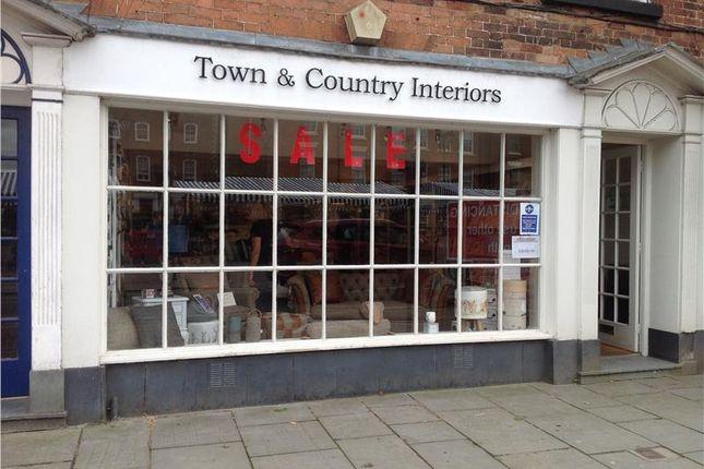 Thumbnail Retail premises for sale in Prime Retail Shop, 9 Castle Street, Ludlow, Shropshire