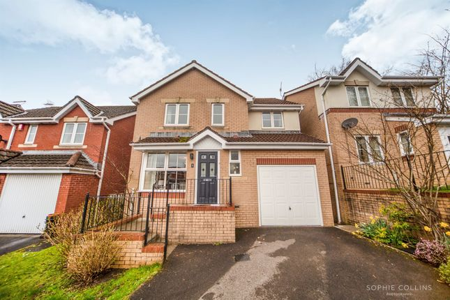 Thumbnail Detached house for sale in Llys Fach, Church Village, Pontypridd