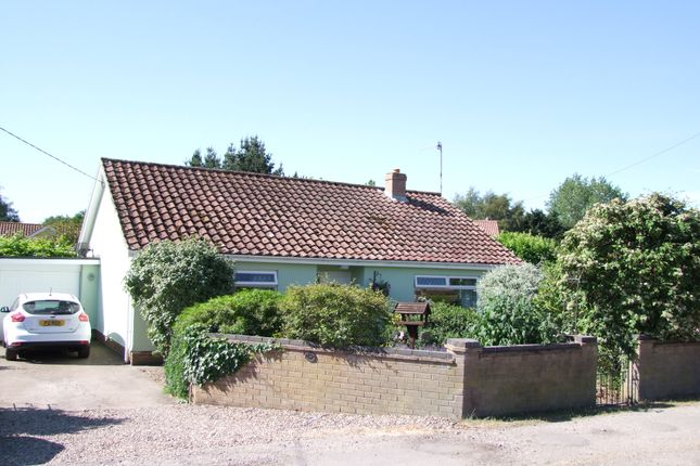 Thumbnail Detached bungalow for sale in St. Andrews Road, Knodishall, Saxmundham