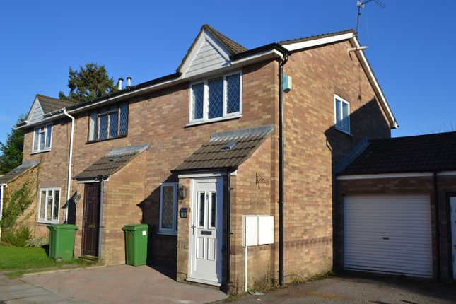 Thumbnail End terrace house for sale in Silver Birch Close, Whitchurch, Cardiff