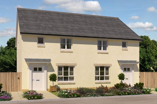 """Thumbnail End terrace house for sale in """"Wemyss"""" at Kirkton North, Livingston"""