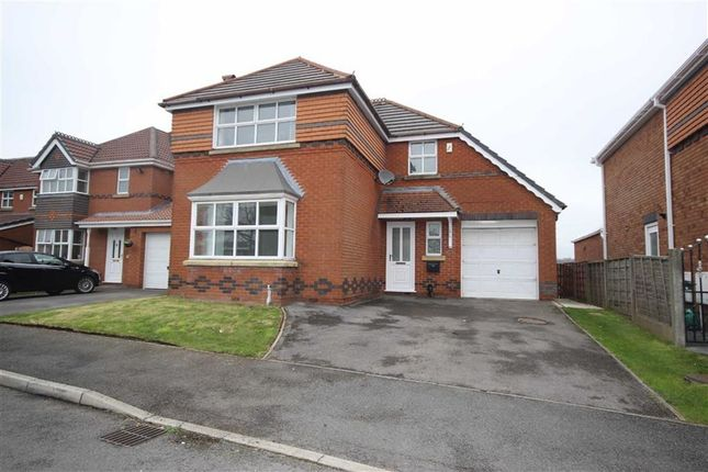 Thumbnail Detached house for sale in Highcrest Grove, Tyldesley, Manchester