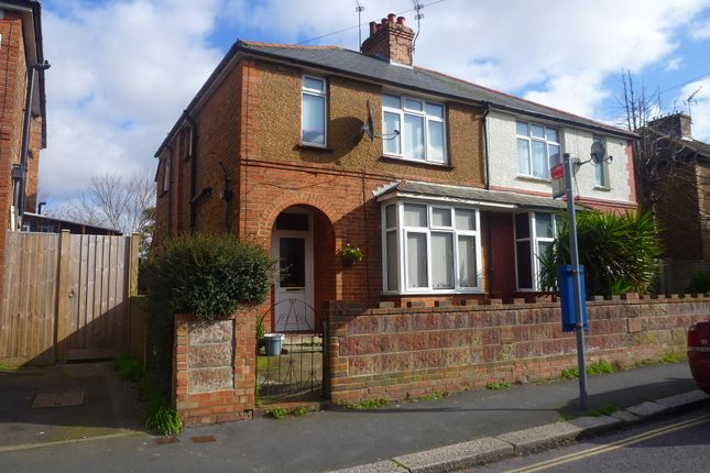 Thumbnail Semi-detached house to rent in Linden Road, Bognor Regis