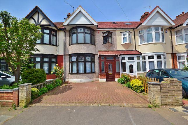 Thumbnail Terraced house to rent in Sandringham Gardens, Barkingside, Ilford