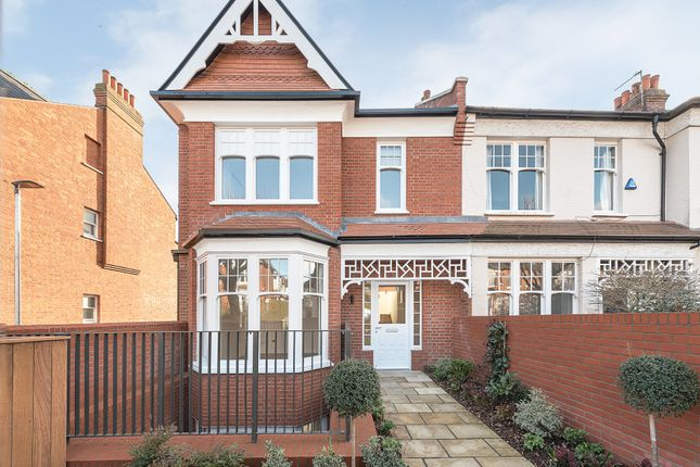 Thumbnail End terrace house for sale in Grand Avenue, Muswell Hill