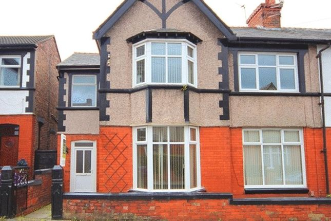 Thumbnail Semi-detached house for sale in Bristol Road, Wavertree, Liverpool