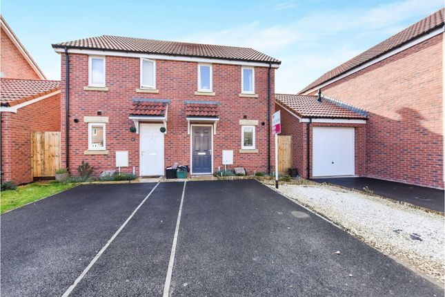 Thumbnail Semi-detached house for sale in Pippin Road, Bathpool, Taunton