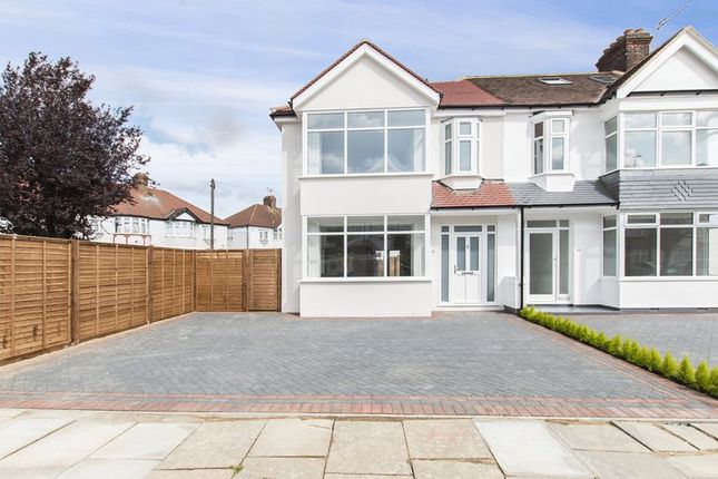 Thumbnail End terrace house for sale in Kenmare Gardens, London