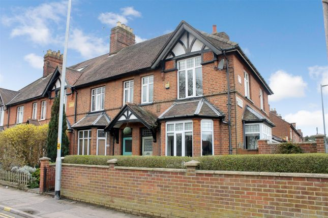 Thumbnail End terrace house for sale in Hall Road, Norwich
