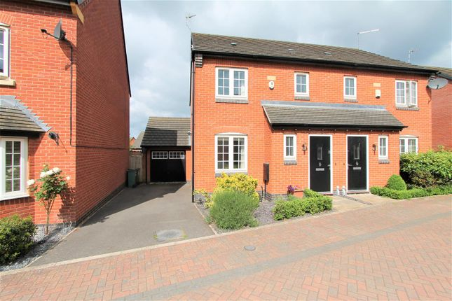 3 bed semi-detached house for sale in Mill Field Avenue, Countesthorpe, Leicester LE8