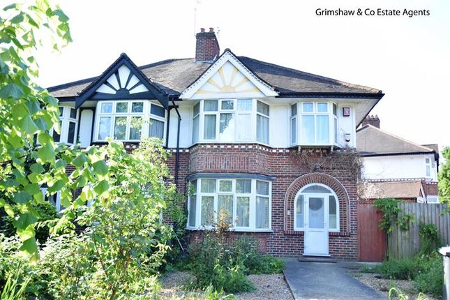 3 bed semi-detached house for sale in Brunswick Gardens, Greystoke Park Estate, Ealing, London