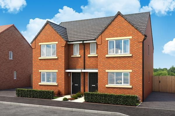 "Thumbnail Property for sale in ""The Dorchester At Fairway"" at Mcmullen Road, Darlington"
