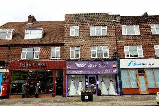 Thumbnail Maisonette for sale in Front Street, Monkseaton, Whitley Bay