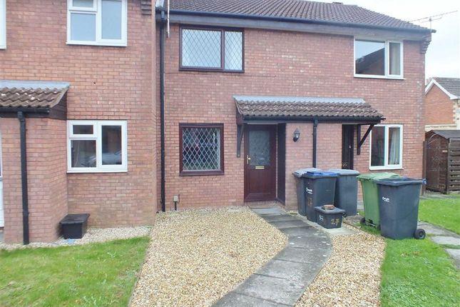 Thumbnail Terraced house to rent in Weavers Croft, Melksham, Wiltshire