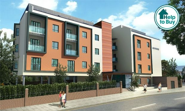 Thumbnail Flat for sale in Grove House, 551 London Road, Isleworth, Middlesex