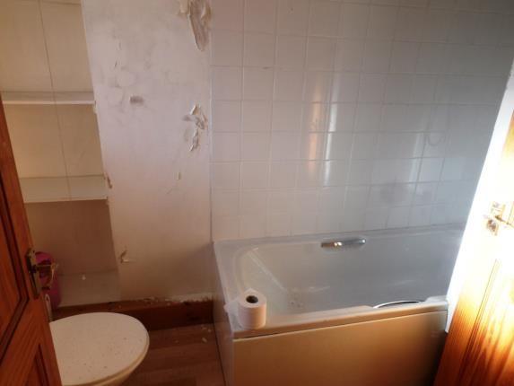 Bathroom of Ty Gwyn, Trawsfynydd, Blaenau Ffestiniog, Gwynedd LL41