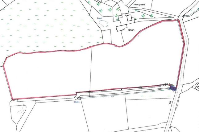 Land for sale in Bettws, Lampeter