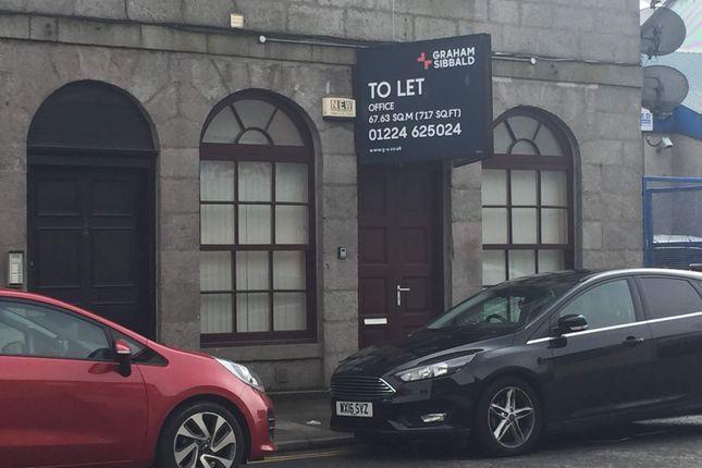 Thumbnail Office to let in 26 Wellington Street, Aberdeen