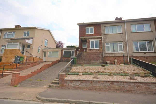 Thumbnail Semi-detached house for sale in Ridgeway Road, Rumney, Cardiff.