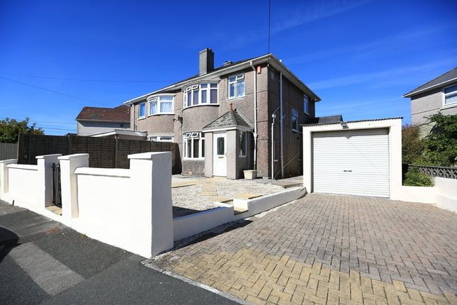 3 bed semi-detached house for sale in Randwick Park Road, Plymstock, Plymouth