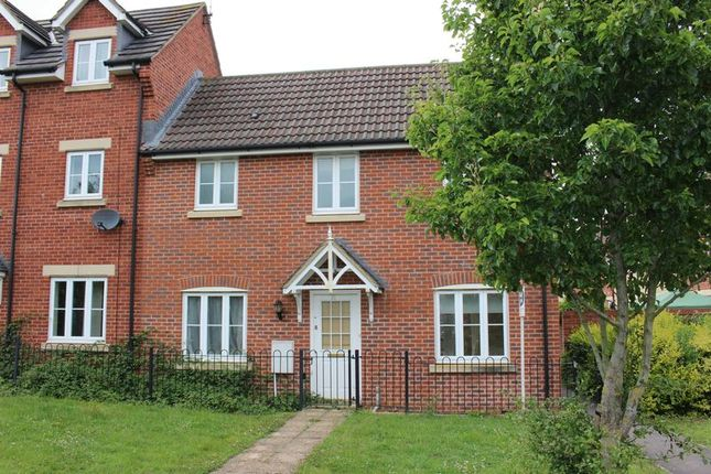 Thumbnail End terrace house to rent in King Edward Close, Calne