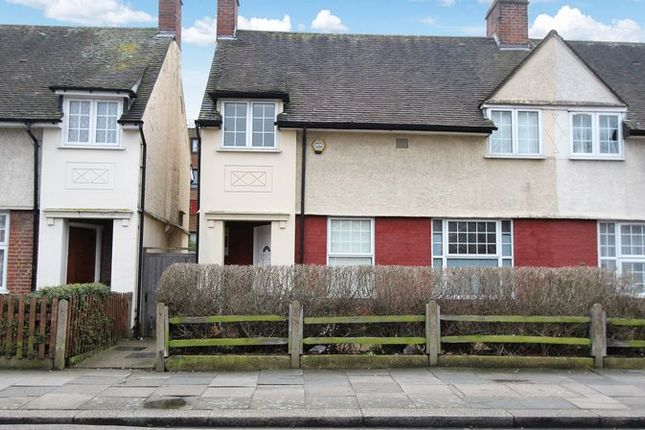 Thumbnail End terrace house for sale in Russell Avenue, London